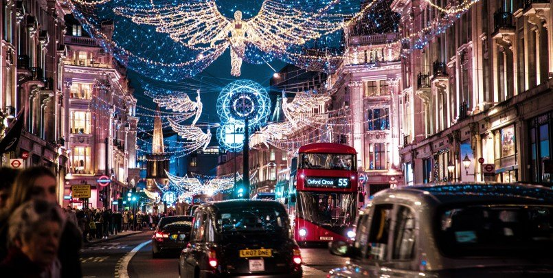Christmas Lights Regents Street