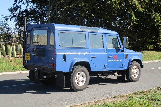 A Stonehenge conservation vehicle