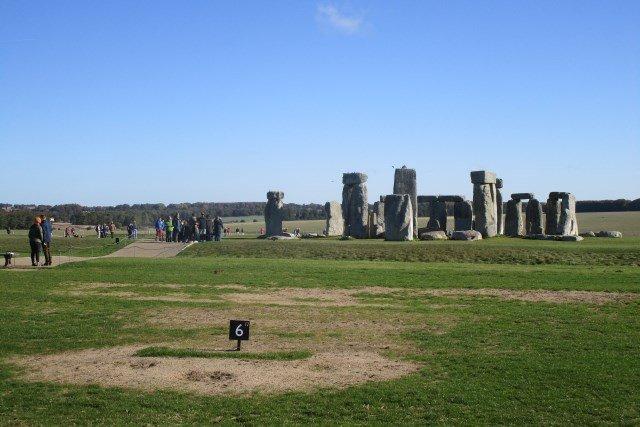 Stonehenge Blue Skies