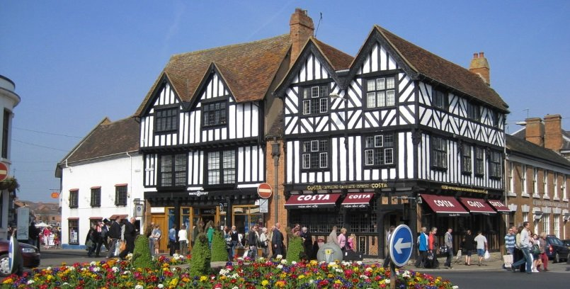 Visiting Stratford-upon-Avon High Street