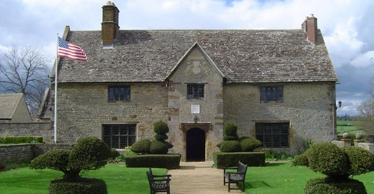 Sulgrave Manor. American Landmarks in England