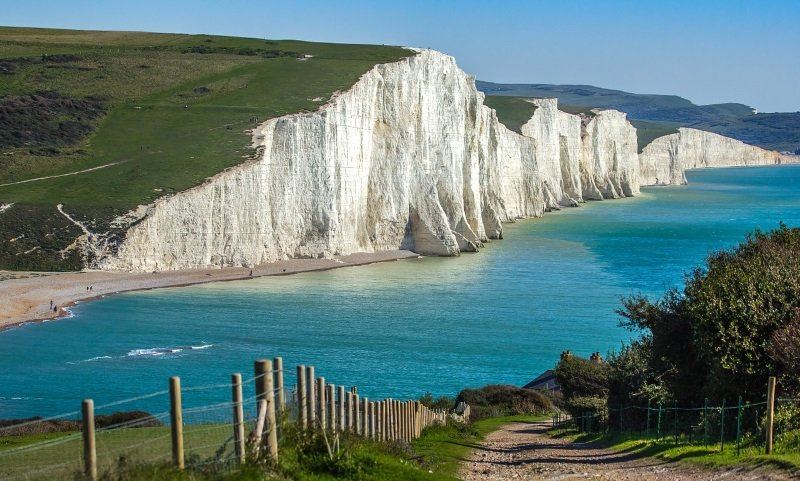 Seven Sisters, Sussex. Top 5 Beautiful Regions in England