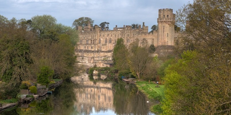 Warwick Castle by dawarwickphotography under CC BY 2.0 License /Cropped From Original