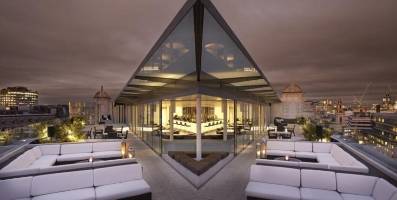 Me London Hotel, Rooftop Bar. Best Hotel Rooftops in London 2016