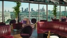 The Mondrian Hotel, London, Rooftop Bar