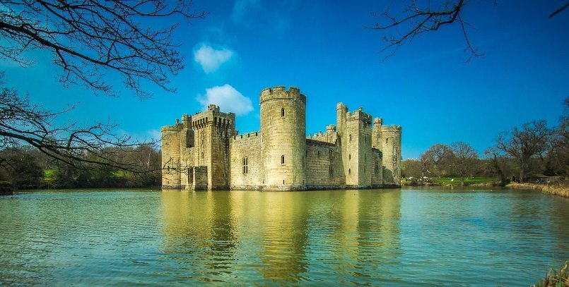Visiting Bodiam Castle