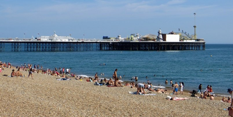 Brighton Beach. Top Places to Visit in Brighton