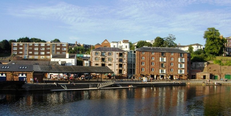 Quayside Exeter: Top Places to Visit in Exeter