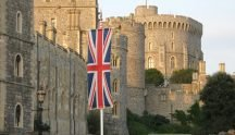 Windsor castle from London