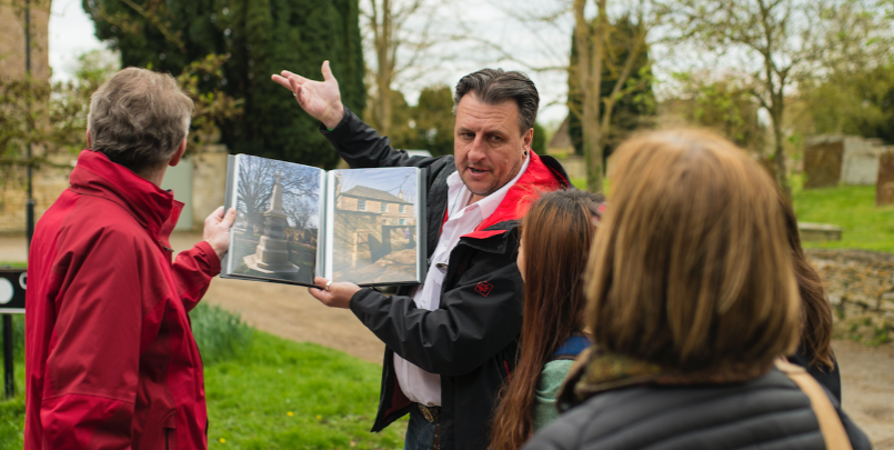 Tour guide Bampton