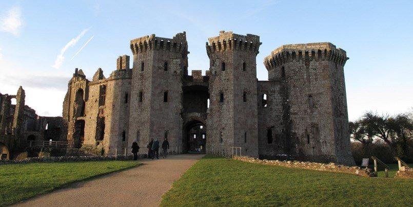 Raglan Castle 1