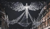 Regent Street Angel Christmas Lights 500