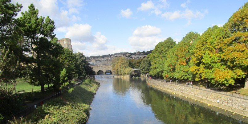 Pulteney Bridge from afar