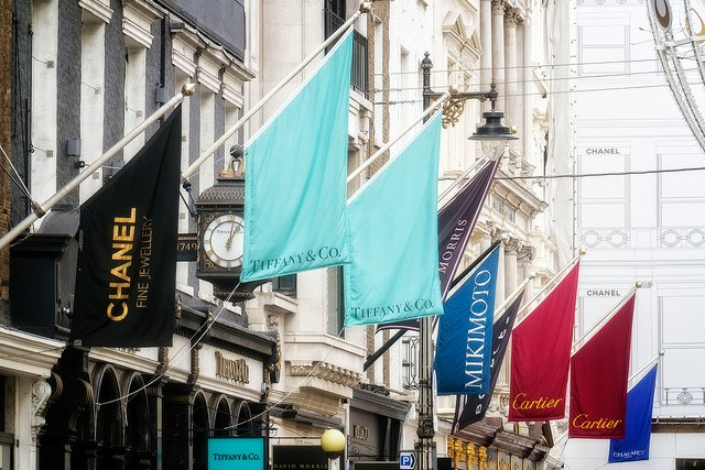 Bond Street - luxury brands