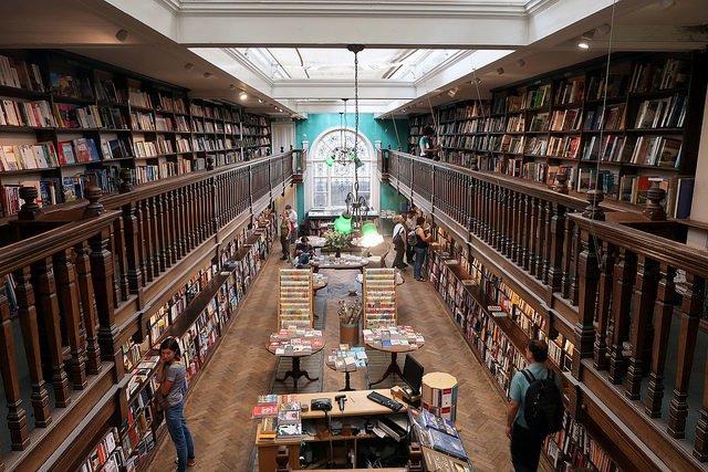 Unique bookshops in London