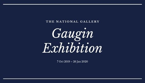 Gaugin Exhibition