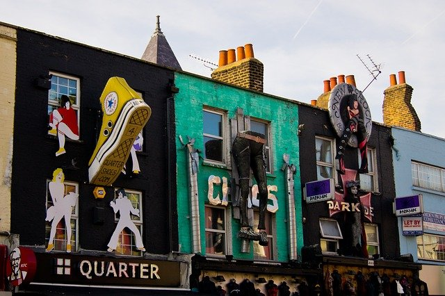 Camden London: Iconic buildings