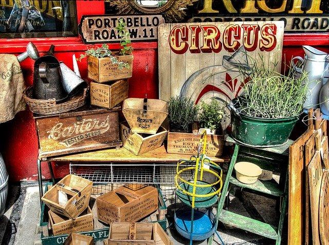 Portobello Road Market Vintage Goods