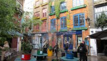 Neil's Yard, Covent Garden District