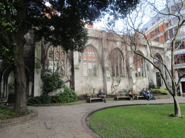 St Dunstan in the East Church Garden
