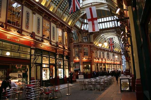 Leadenhall Market, City of London