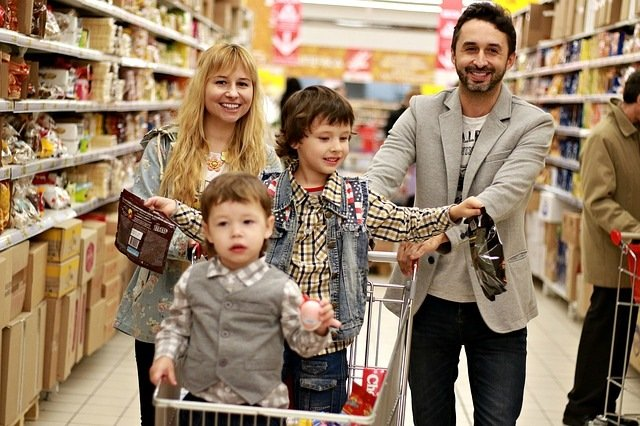 Shopping in London with Kids