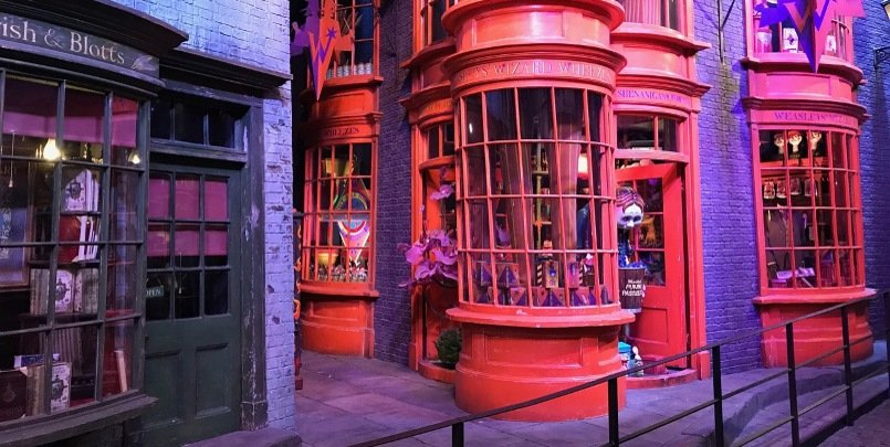 harry-potter Diagon Alley 805