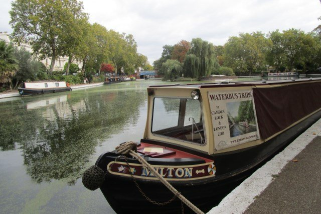 Canal Trip along the Waterway