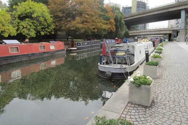 Alongside the Little Venice Canal