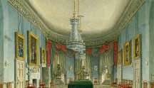 Frogmore House Dining Room by Charles Wild