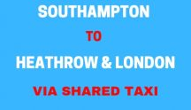 SOUTHAMPTON TO LONDON