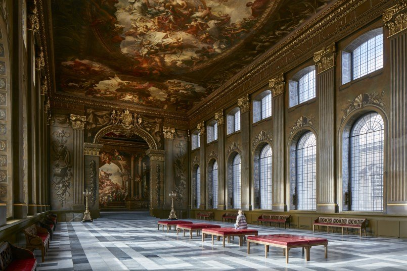The Painted Hall, Old Royal Naval College, Greenwich © James Brittain