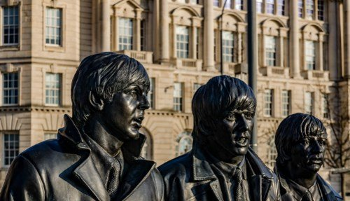 The Beatles Statues 500
