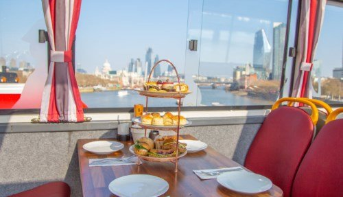 Afternoon Tea London Bus - High Tea & Sightseeing Experience