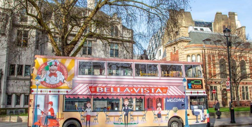 Afternoon Tea London Bus Sightseeing 805 405