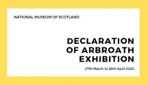 Declaration of Arbroath Exhibition