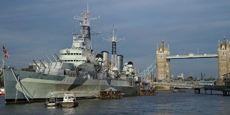 HMS Belfast 805 405