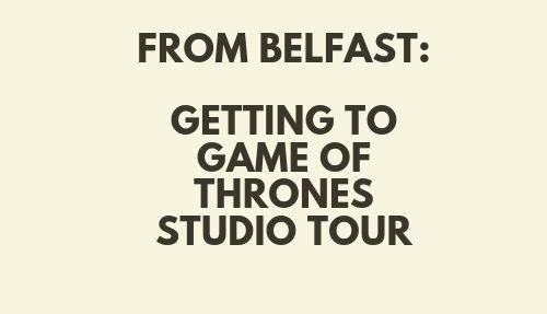 GoT studio from Belfast