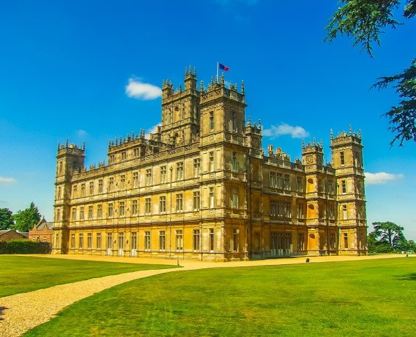 Highclere Castle on a private tour from Southampton