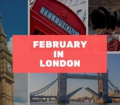 February in London Whats on