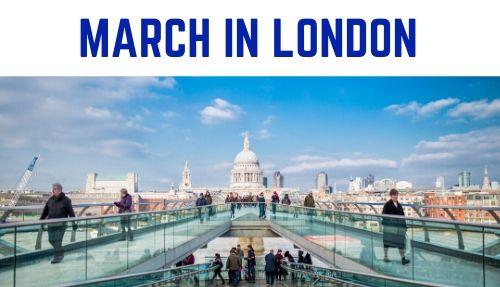 March in london