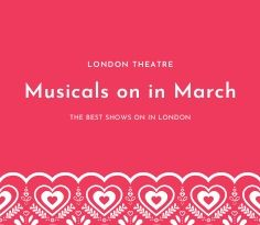 Musicals on in March