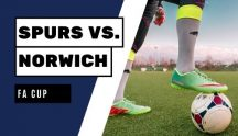 Spurs Norwich FA Cup 4 March