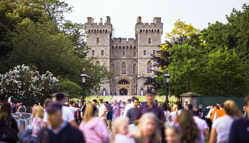 Windsor Castle Tour from London to Southampton Cruise Terminal