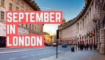 September in London