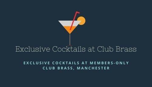 Exclusive Cocktails at Club Brass