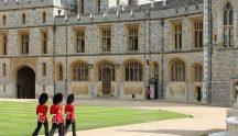Windsor Castle guards