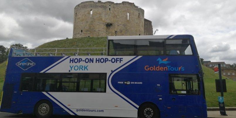 York Hop on Hop off Bus
