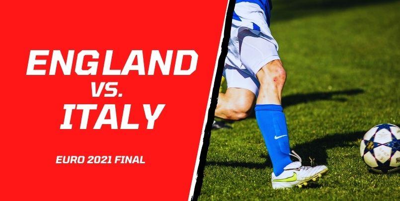 England Italy Euro Final