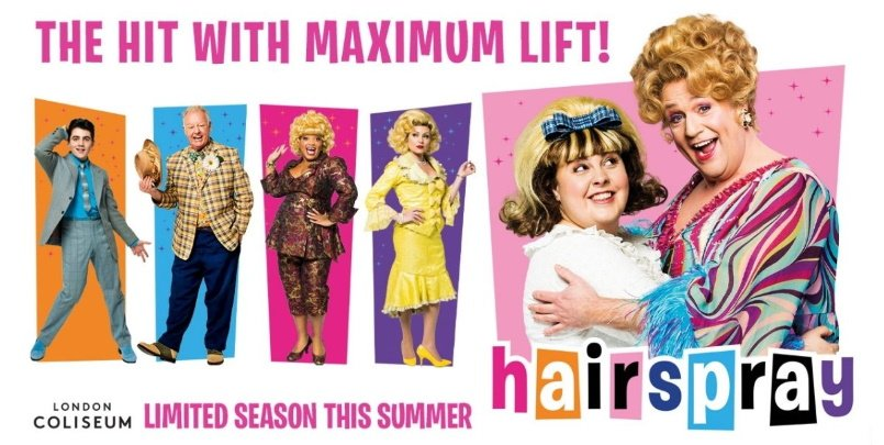 Hairspray London Coliseum
